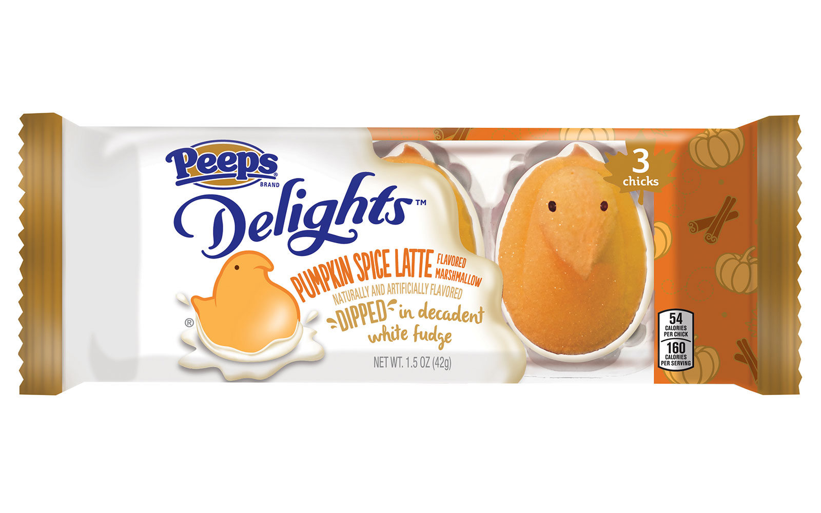 pumpkin spice latte peeps new