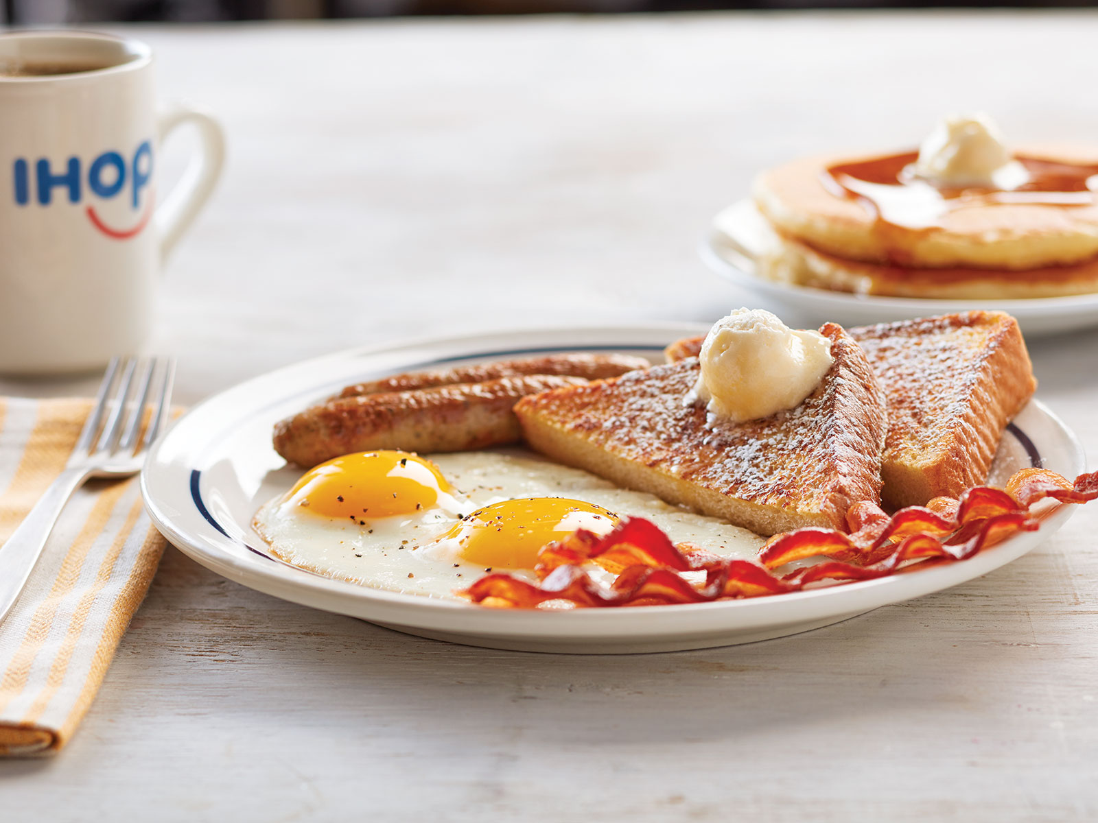 February 27 of this year will be IHOP's National Pancake Day, and guests can receive a free stack of hotcakes from 7 a.m. to 7 p.m.