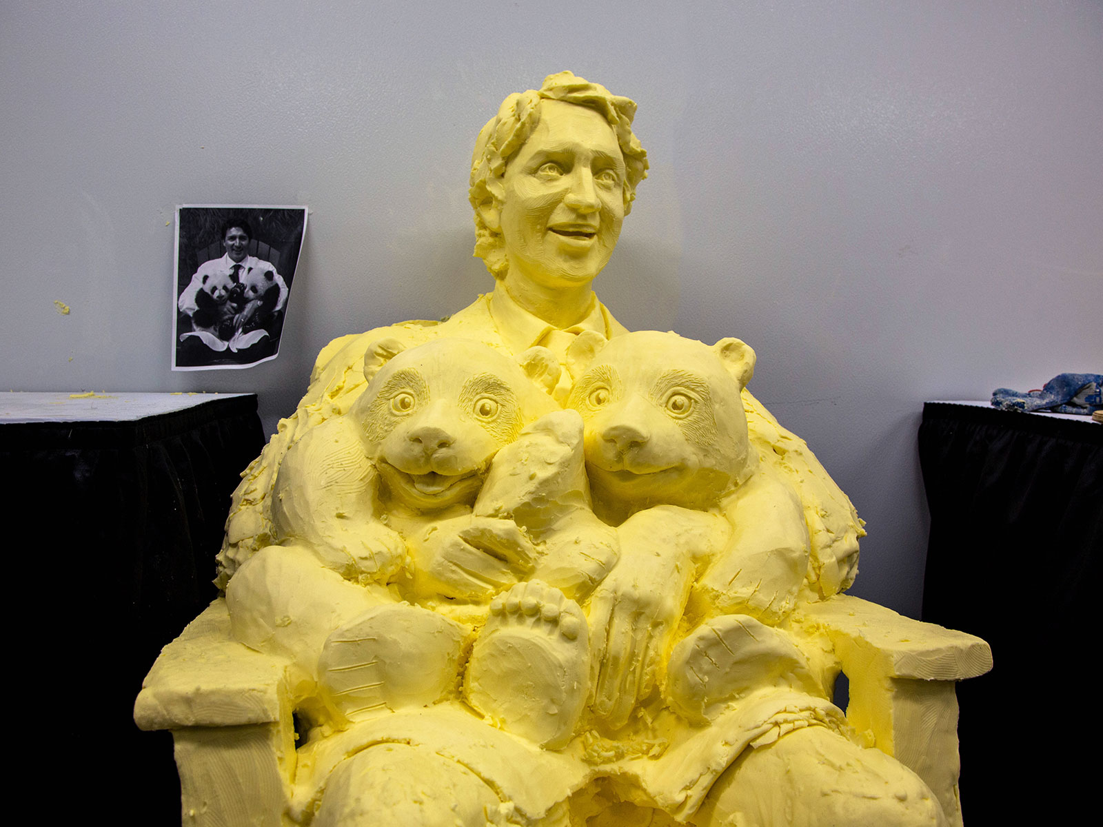 justin trudeau butter sculpture
