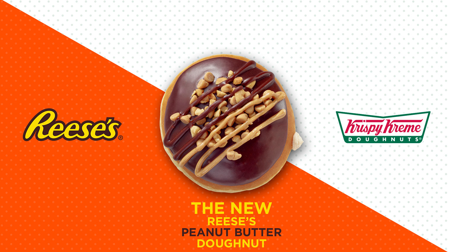 reese's doughnut partnered with krispy kreme