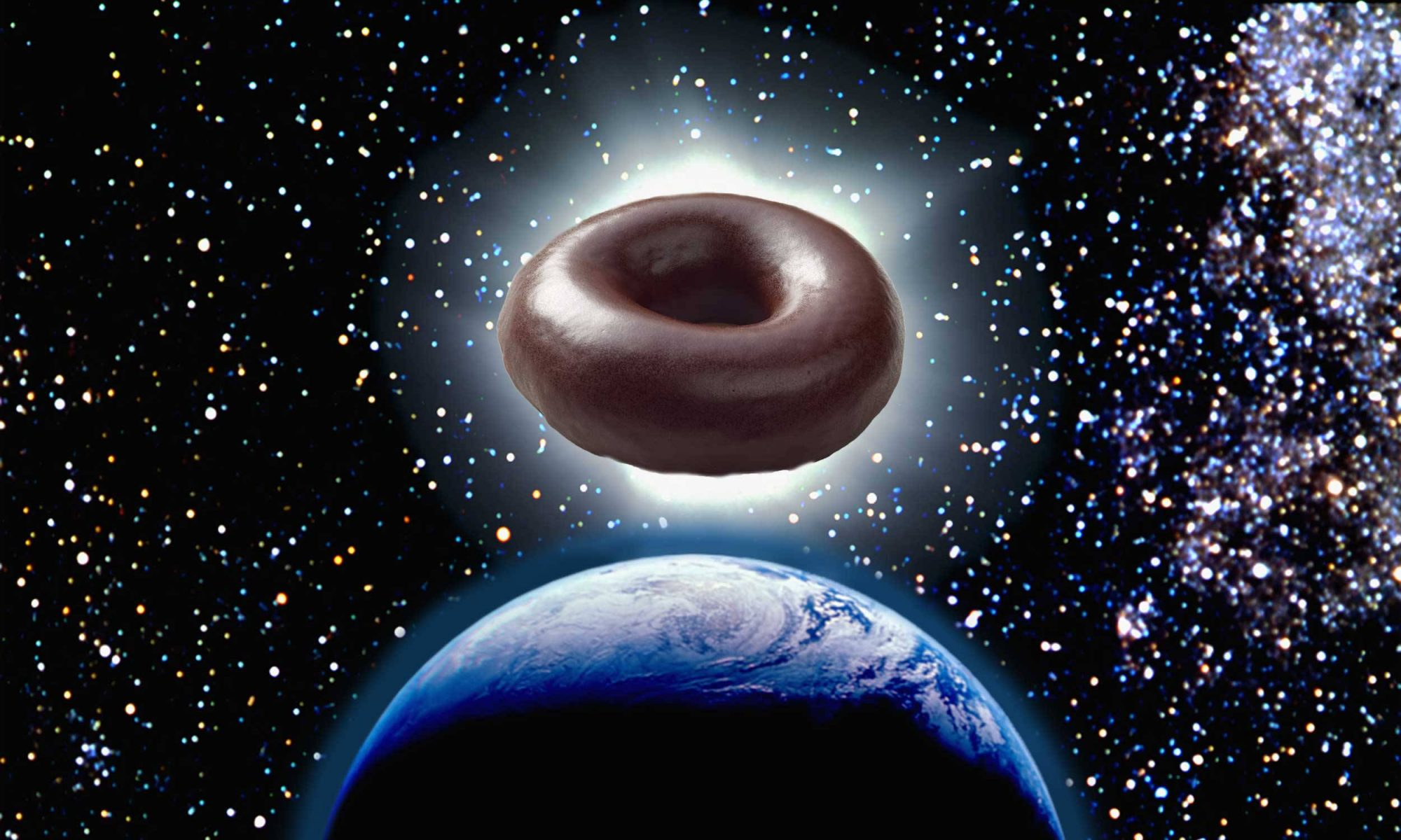 Krispy Kreme's Solar Eclipse Doughnuts Are Covered in Chocolate