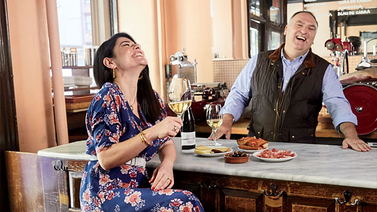 Here's What It's Like to Travel to Spain With José Andrés