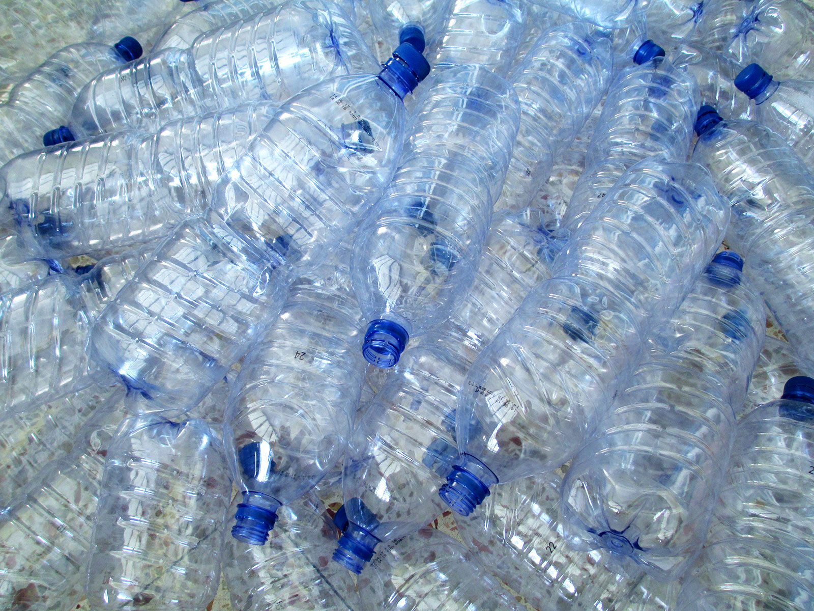 plastic water bottles in national parks