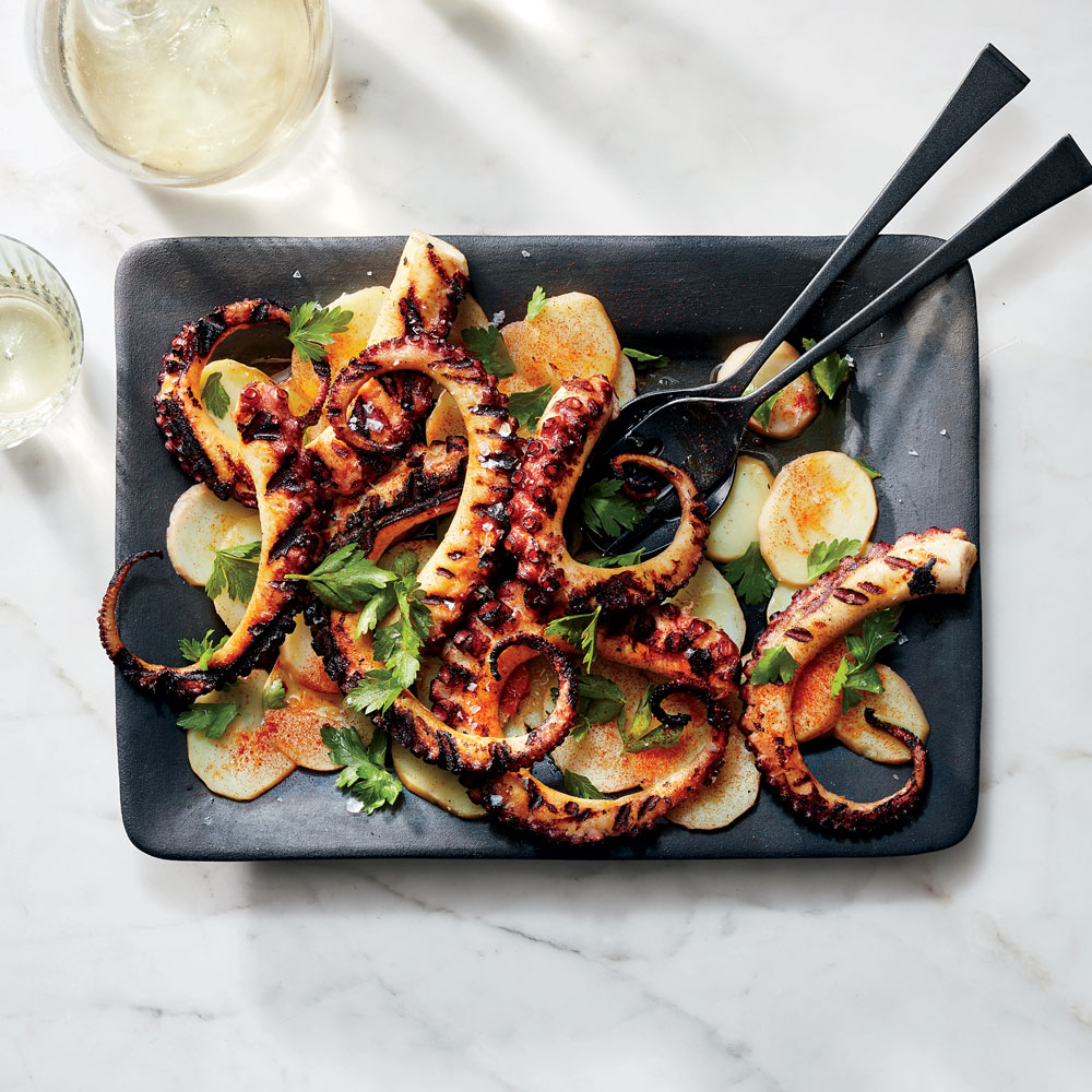 Pulpo a la Gallega (Grilled Octopus with Potatoes)