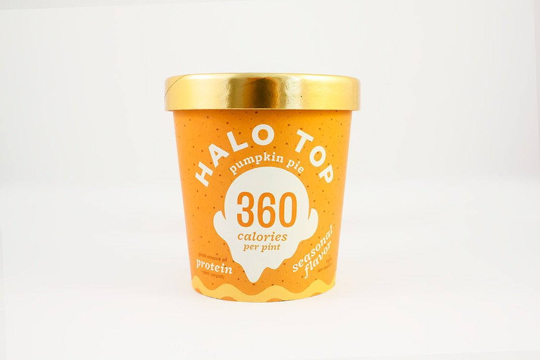 Halo Top's Newest Ice Cream Flavor Is Perfect for Fall