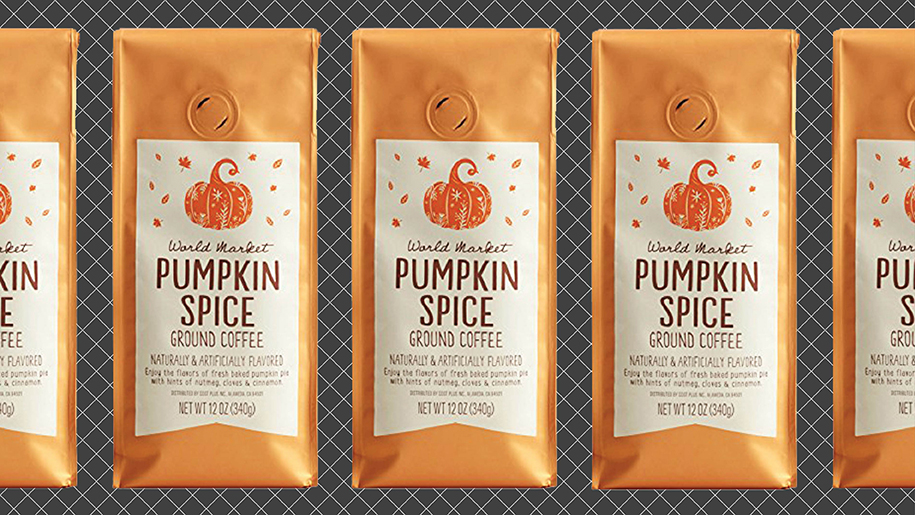 pumpkin spice season has come early