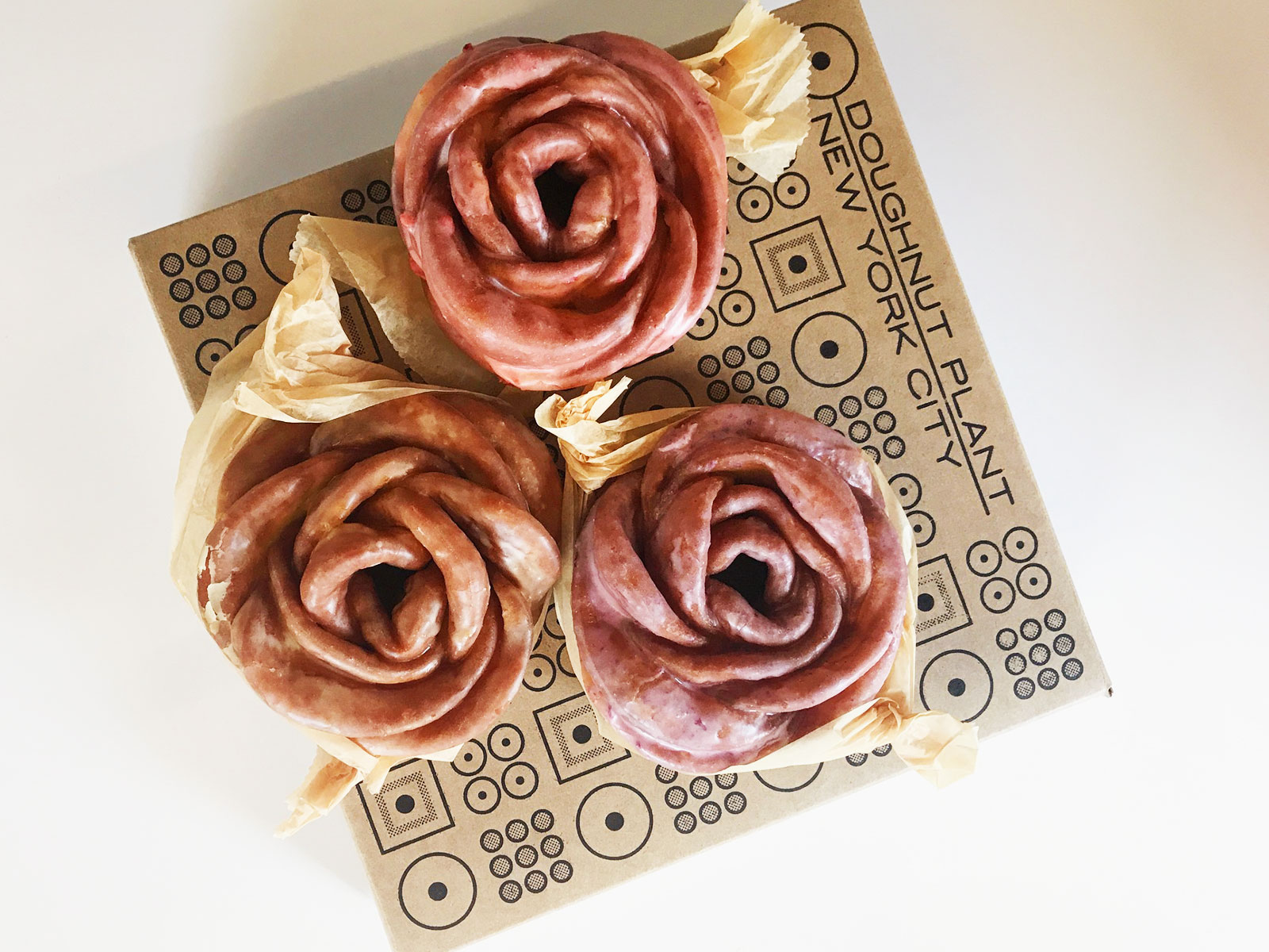 rose shaped foods doughnut
