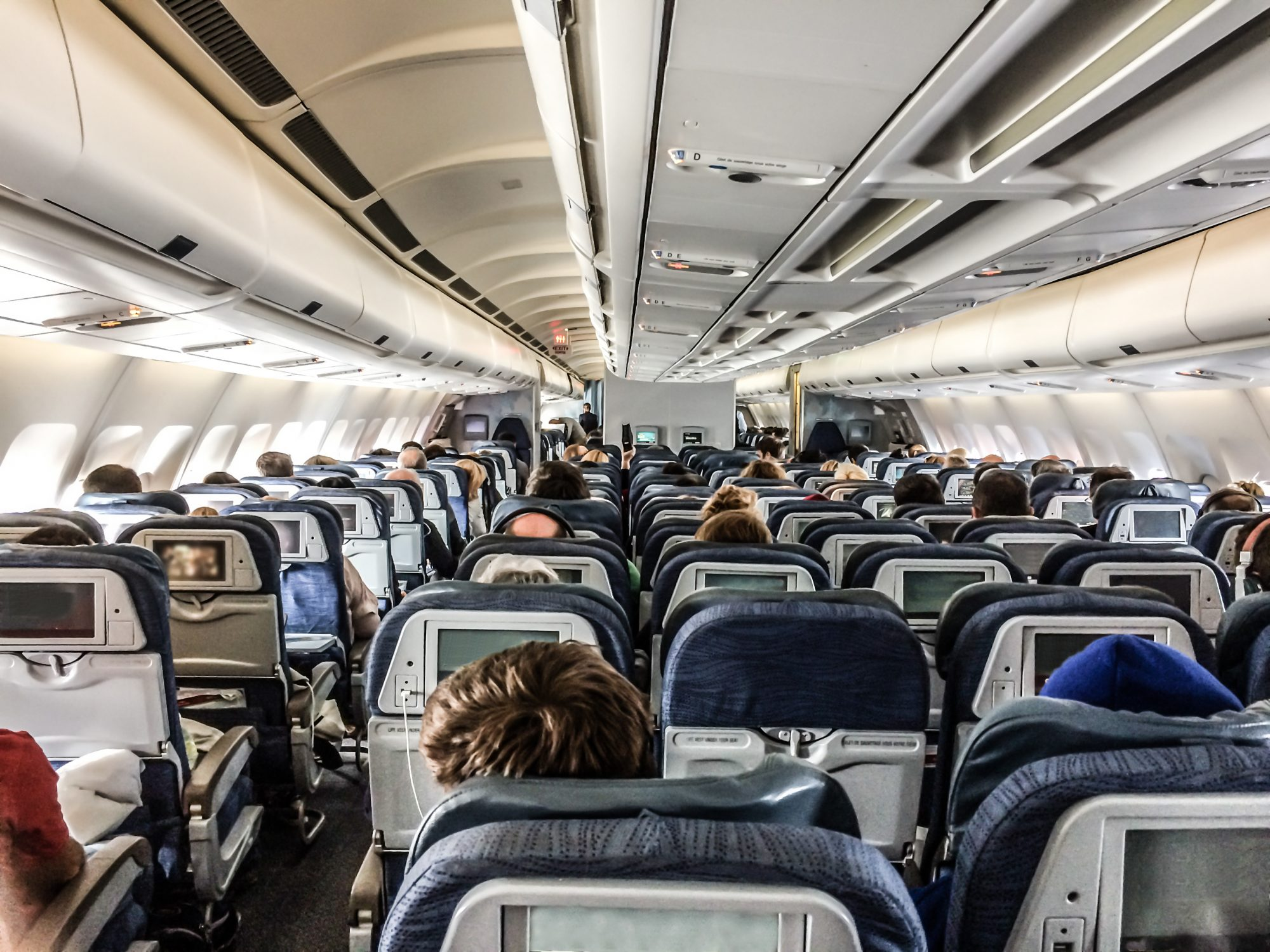 This Is the Real Reason Why Airplane Interiors are Blue
