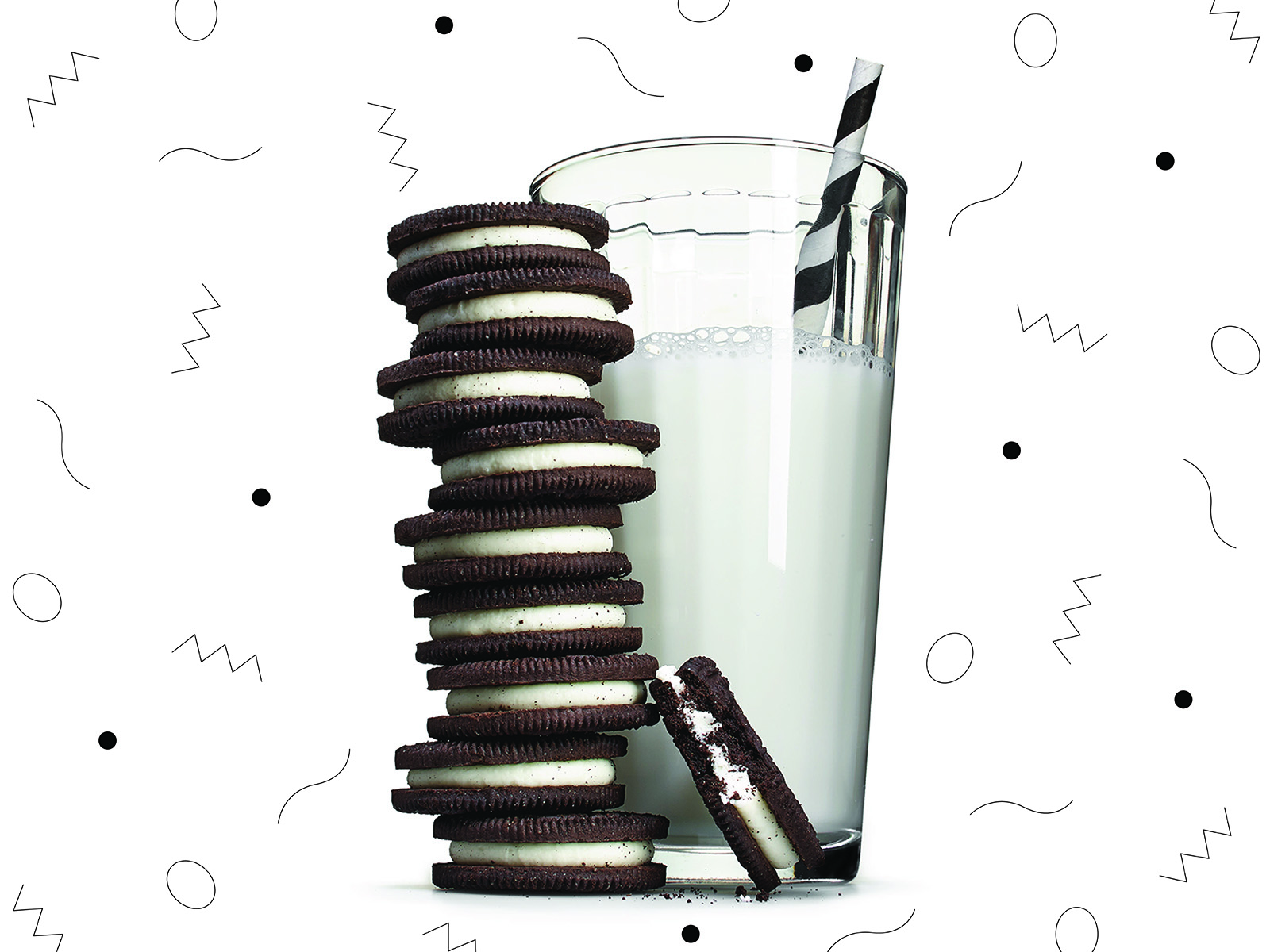 science of dunking oreos