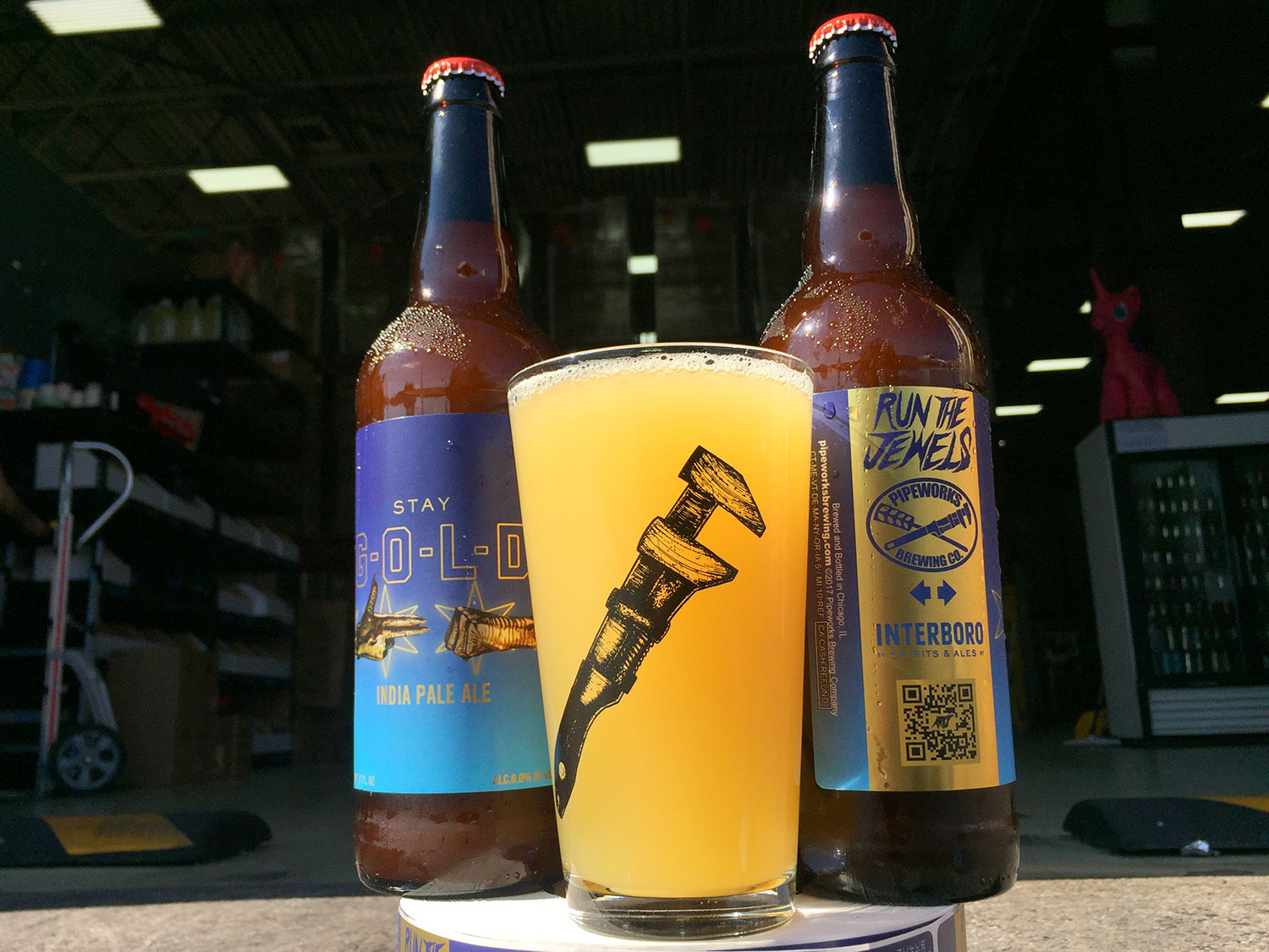 Run the Jewels 'Stay Gold' Beer Is Returning for Lollapalooza