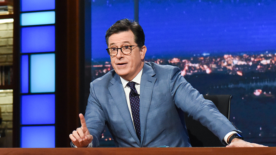 Stephen Colbert and Giada De Laurentiis Chugged Chianti on 'The Late Show'