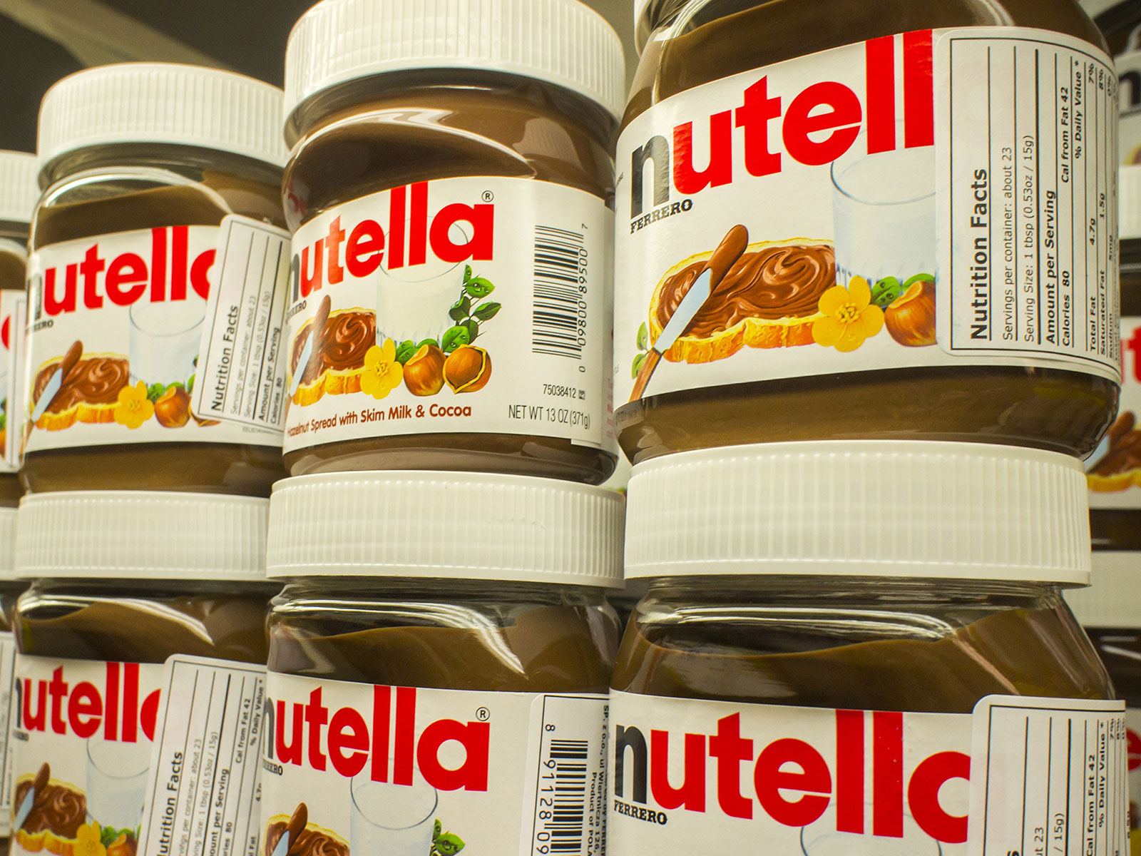 nutella stolen in germany