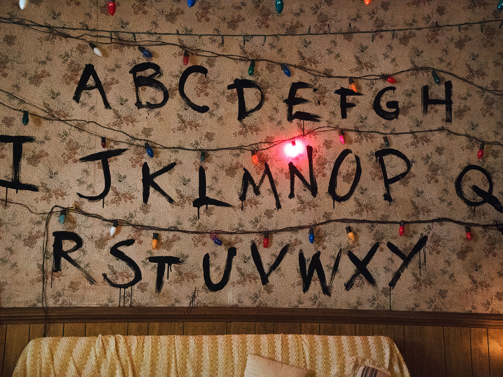 Chicago S Stranger Things Pop Up Bar Opened This Weekend