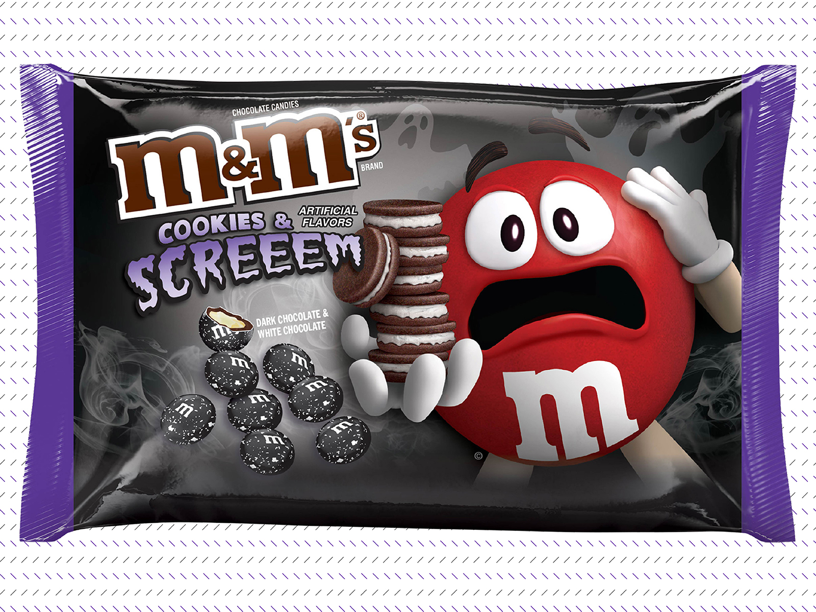 Introducing your next obsession: Cookies and cream M&M's