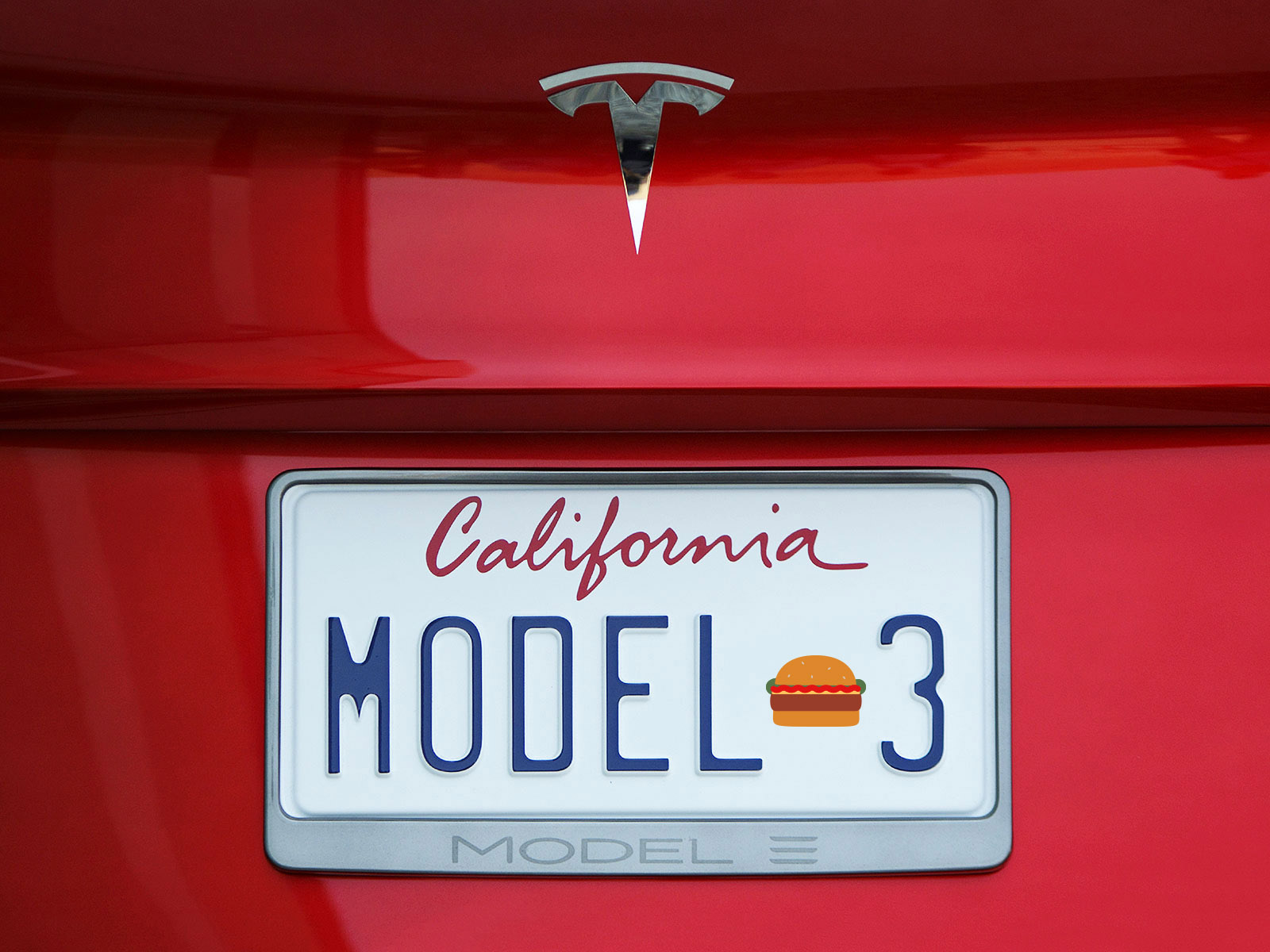 Elon Musk Compares Tesla Model 3 to Hamburgers