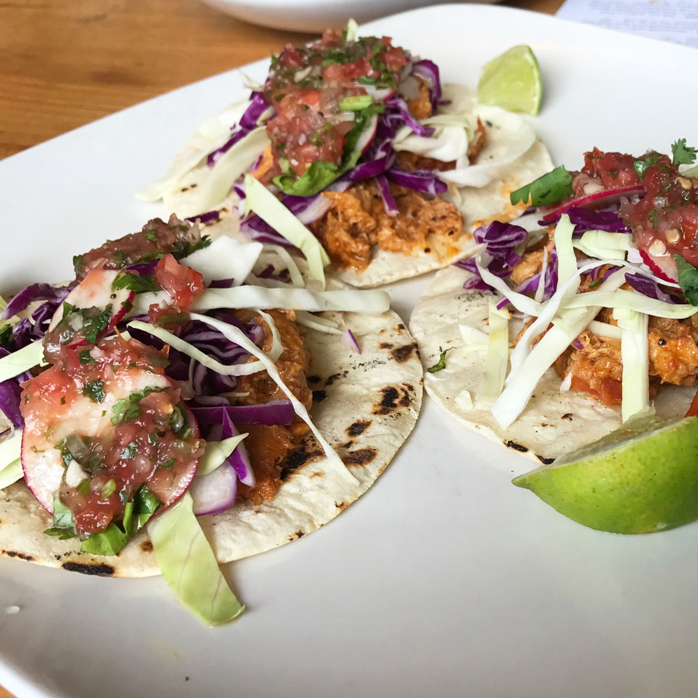 Tinga Tacos from Fiction Tacos