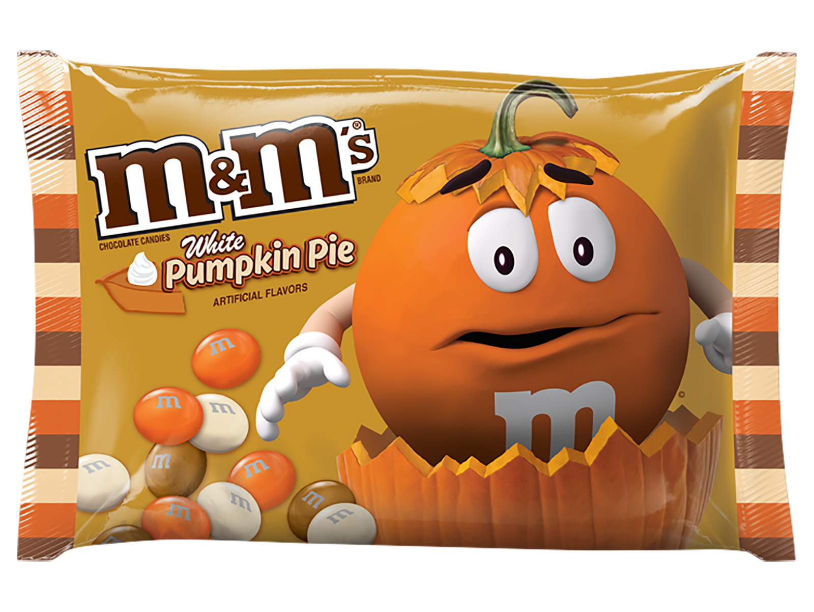 white pumpkin m&ms