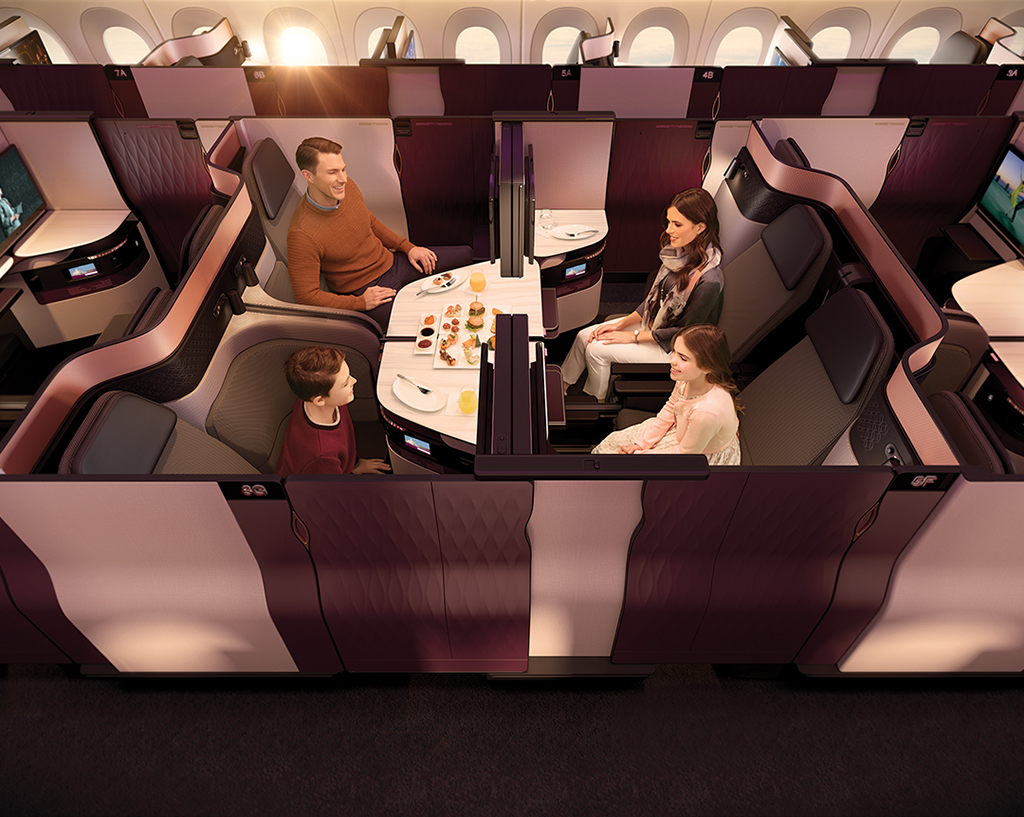 The World's First-Ever Double Airplane Beds Look Insanely Comfortable