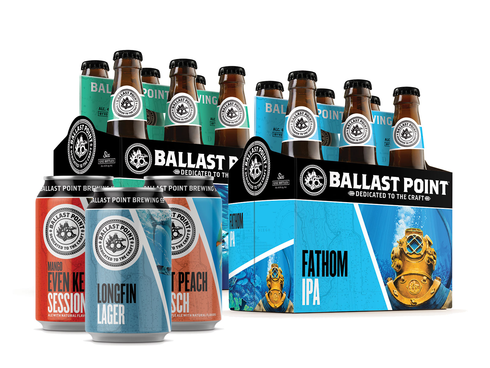 ballast brewing new packaging