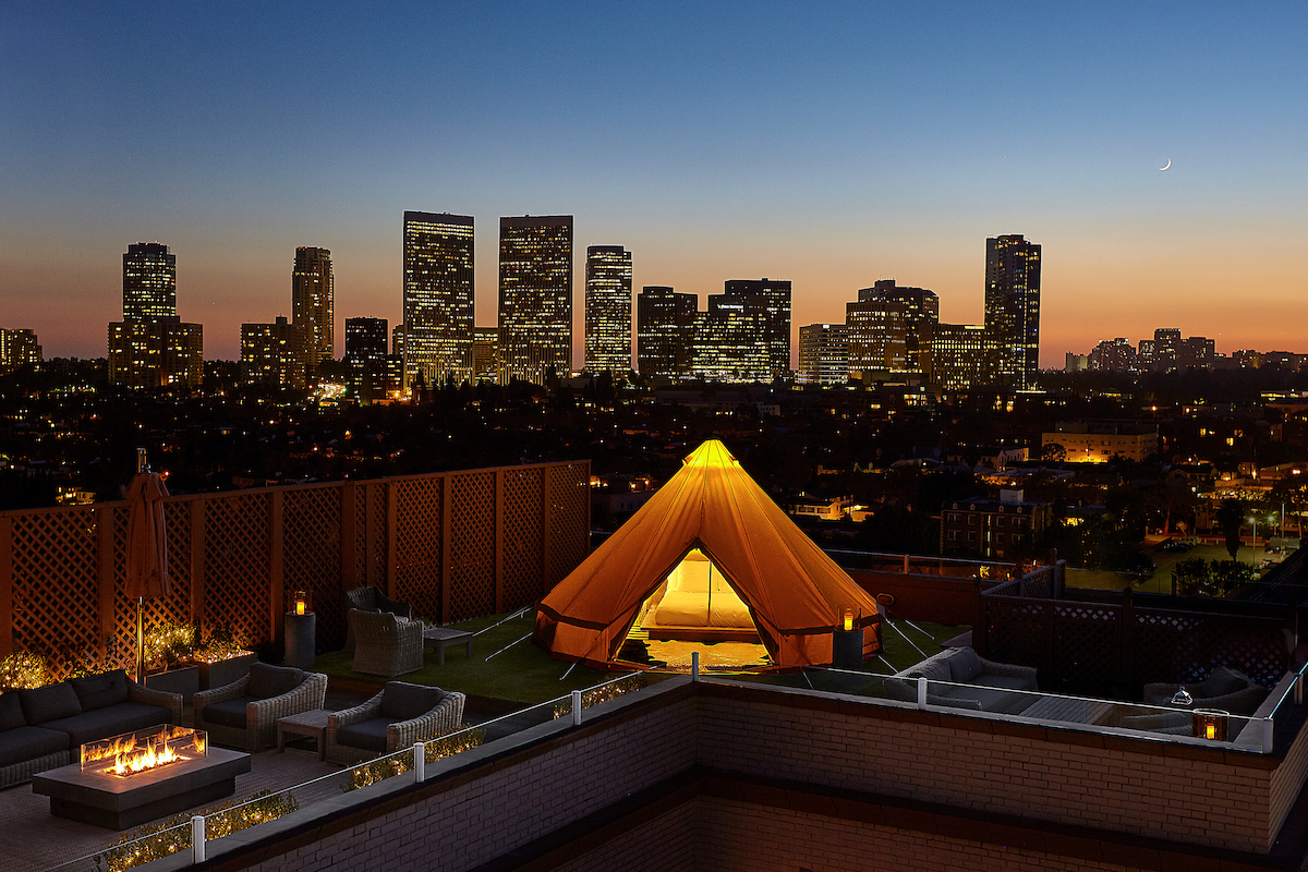 beverly wilshire glamping