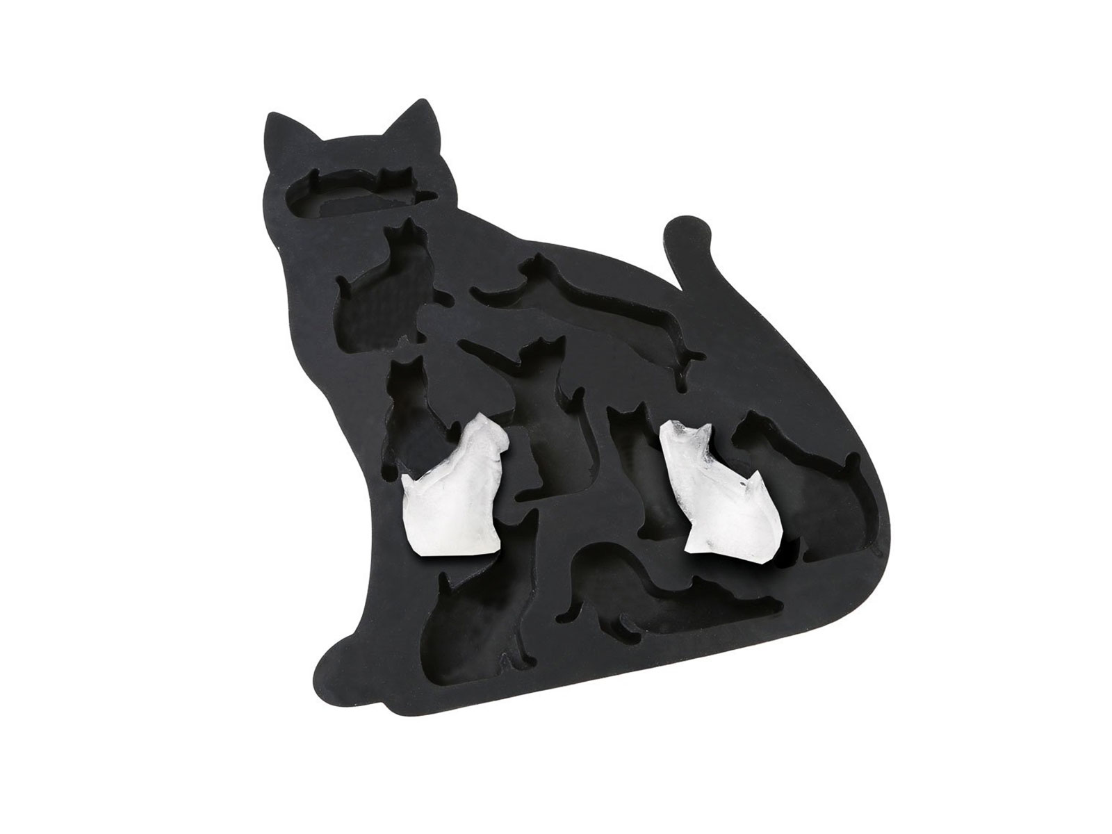 ice cube mold black cat