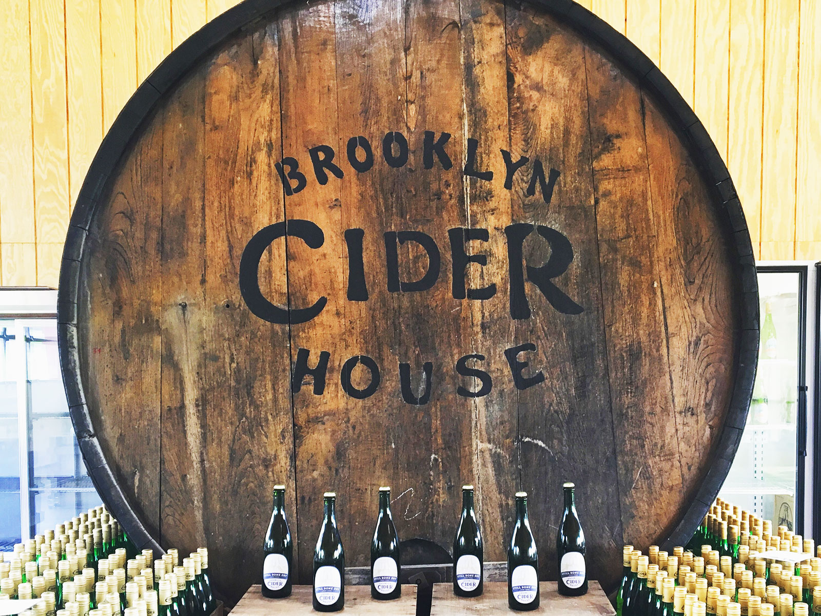 brooklyn cider house in bushwick
