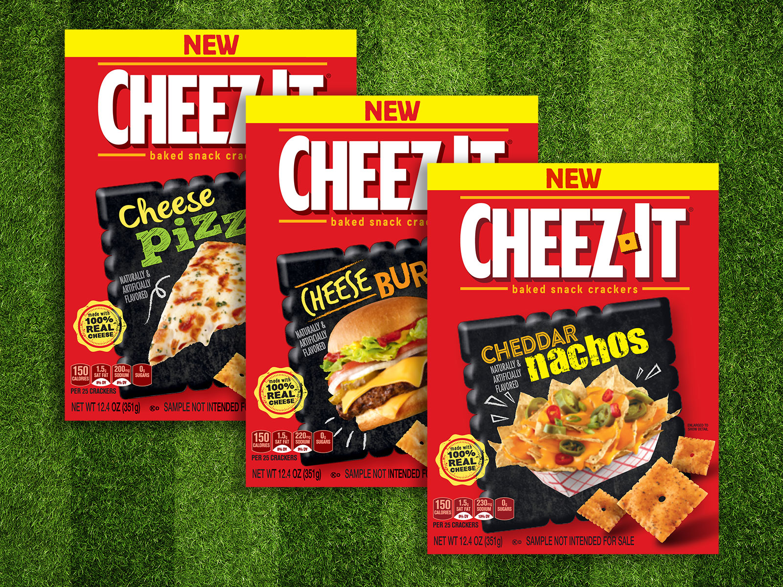 Cheez-It Wants You to Choose Its Best Football-Themed Flavor