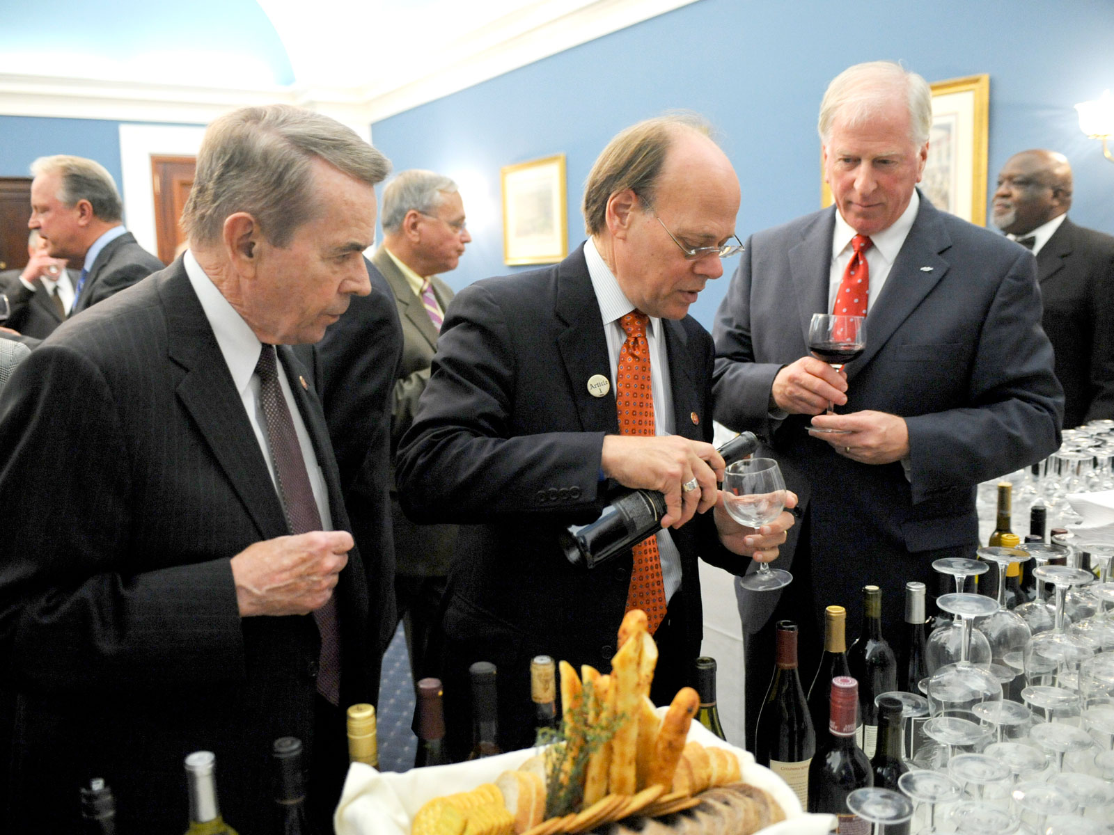 Rare Moments of Bipartisanship with the Congressional Wine Caucus
