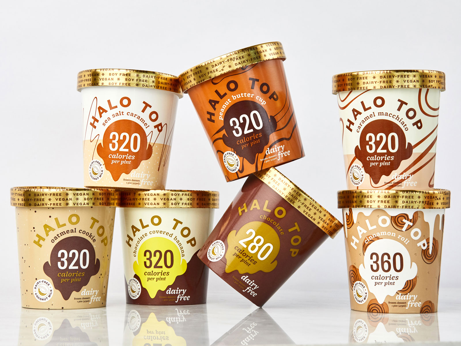 Vegan Halo Top Ice Cream