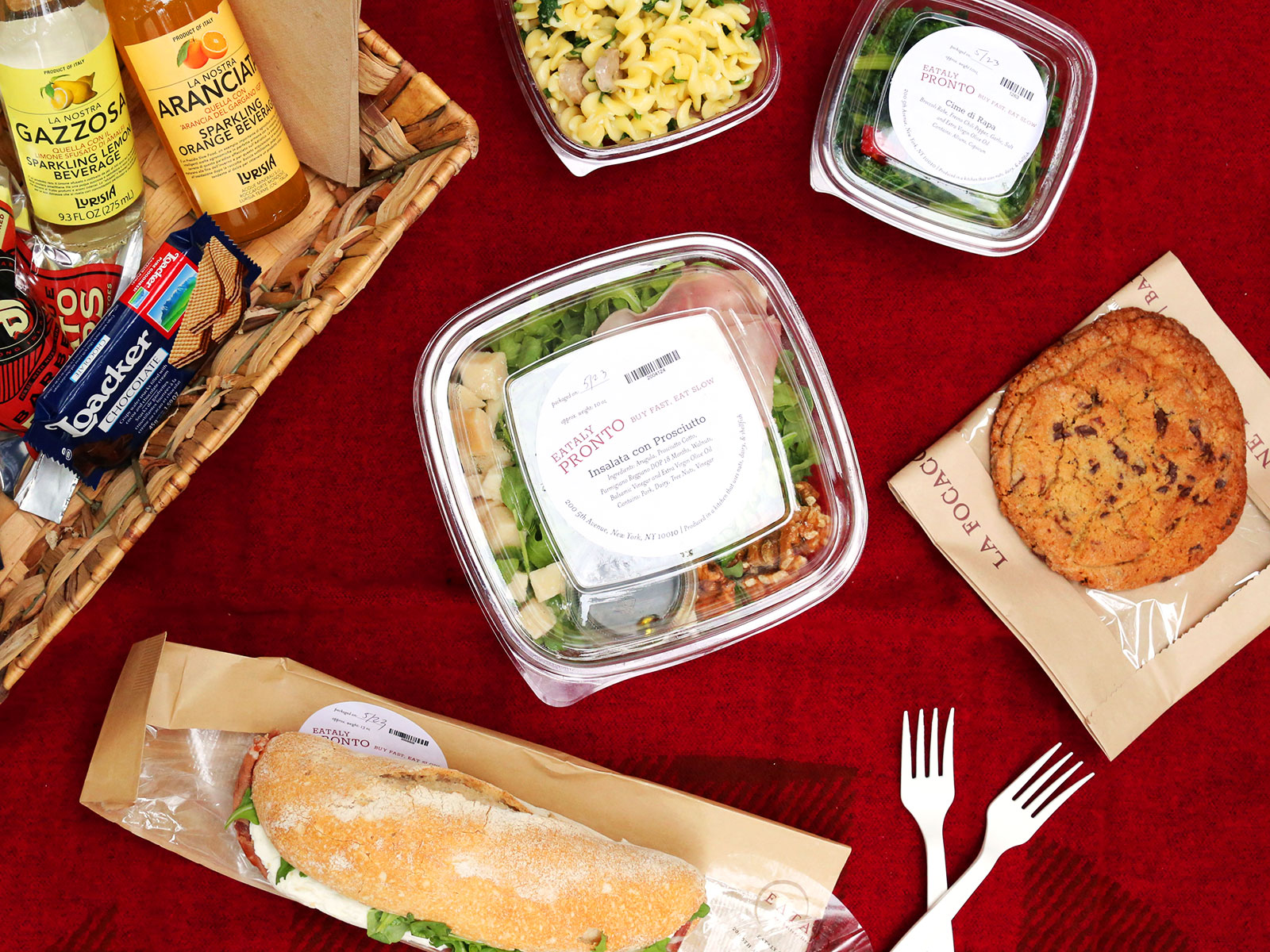 eataly pronto meals
