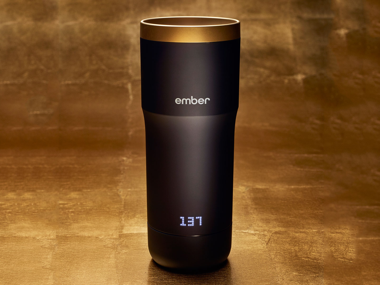 24k gold lid from ember