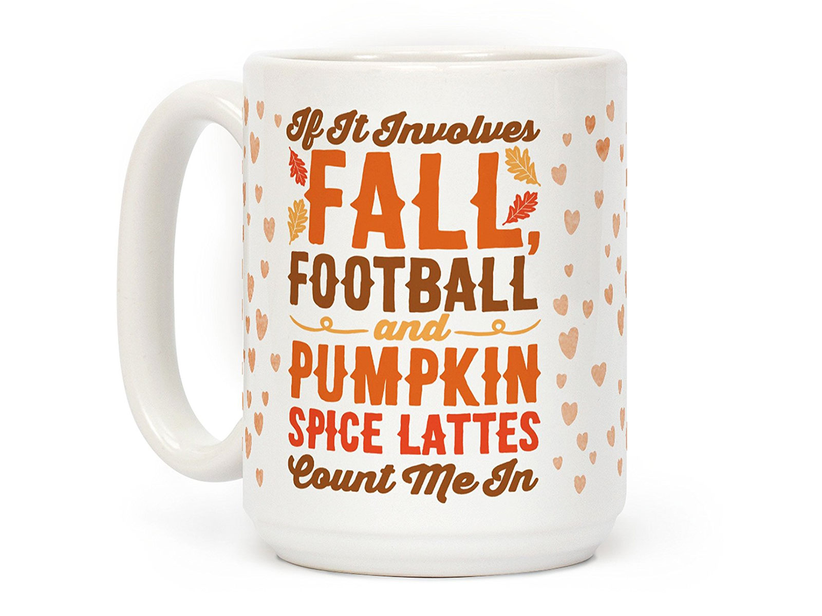 fall themed mug
