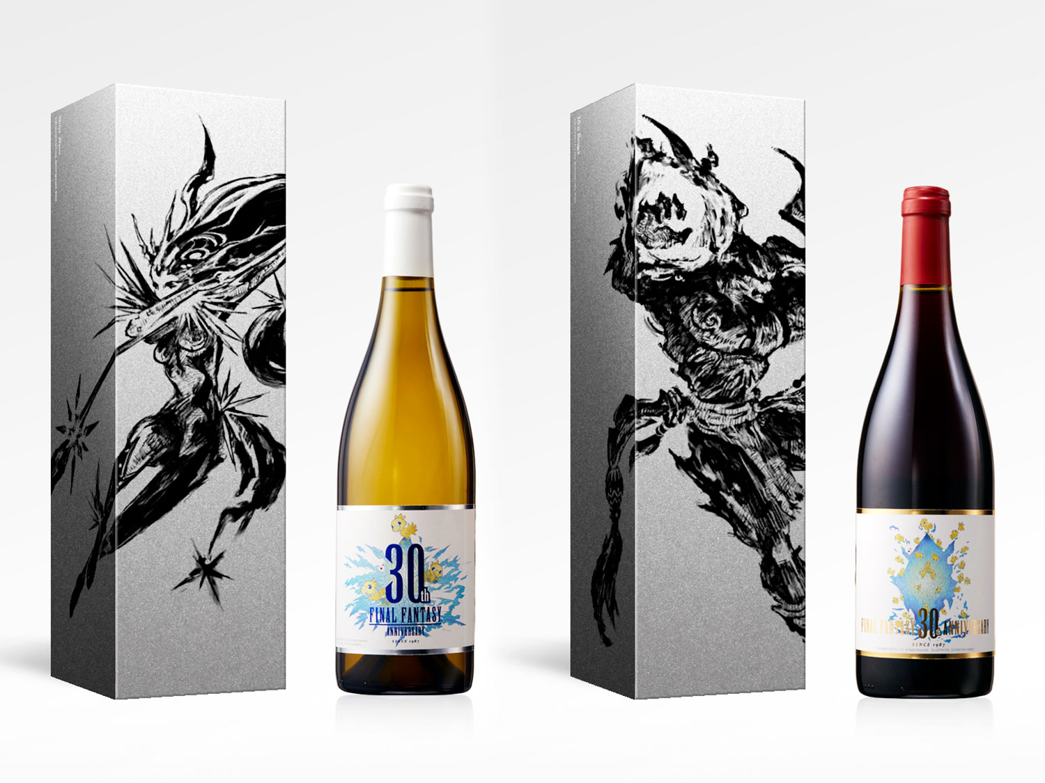 'Final Fantasy' Fans Can Toast the Game's 30th Anniversary With Two Limited-Edition Wines