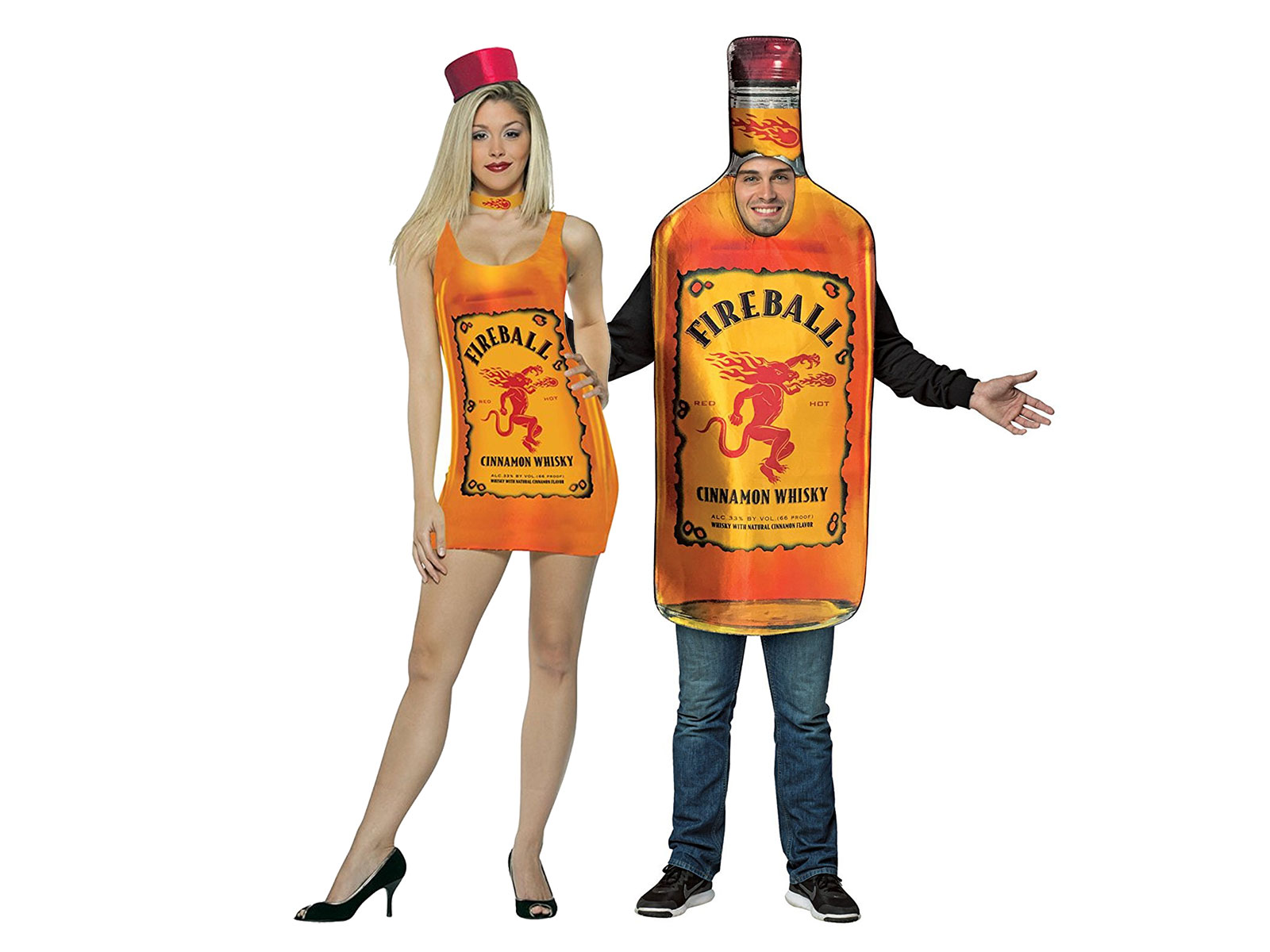 You Can Be A Sexy Fireball Bottle For Halloween This Year