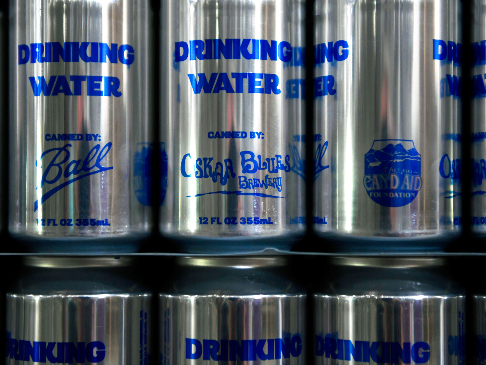 oscar blues makes canned water for hurricane irma