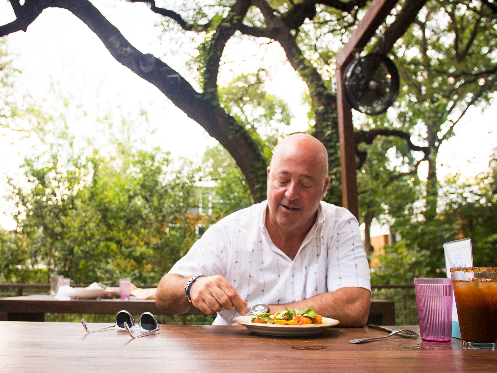 Where to Eat Chicken al Carbon and Breakfast Tacos in Austin, According to Andrew Zimmern