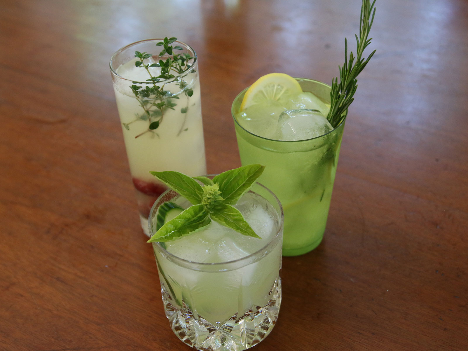 Fresh Herb Cocktails