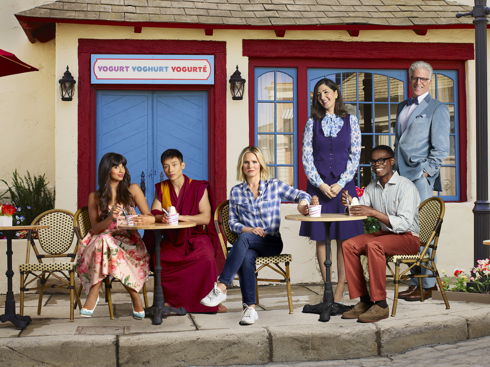 6 Times 'The Good Place' Was Obsessed with Frozen Yogurt