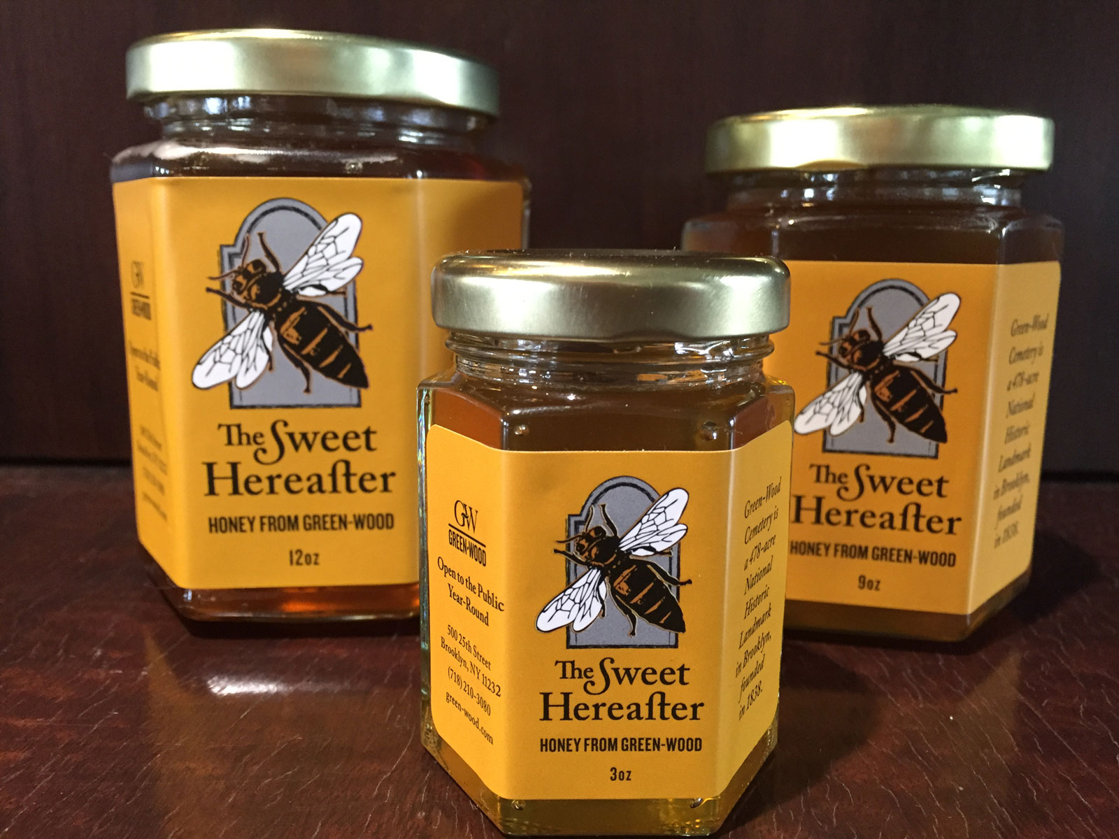 This Honey Made in a Brooklyn Cemetery Is Probably Not Haunted