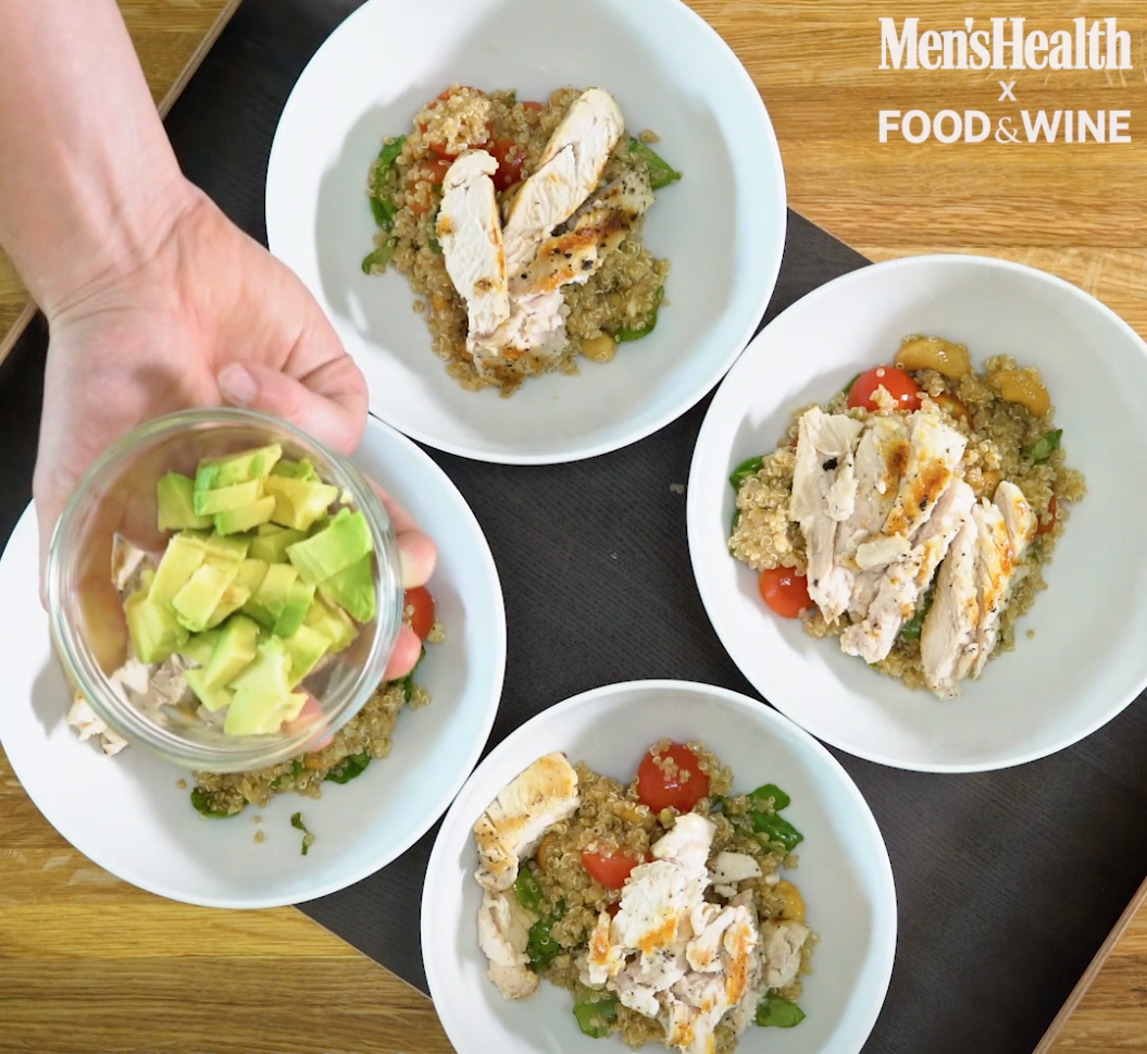 grilled chicken quinoa bowl recipe