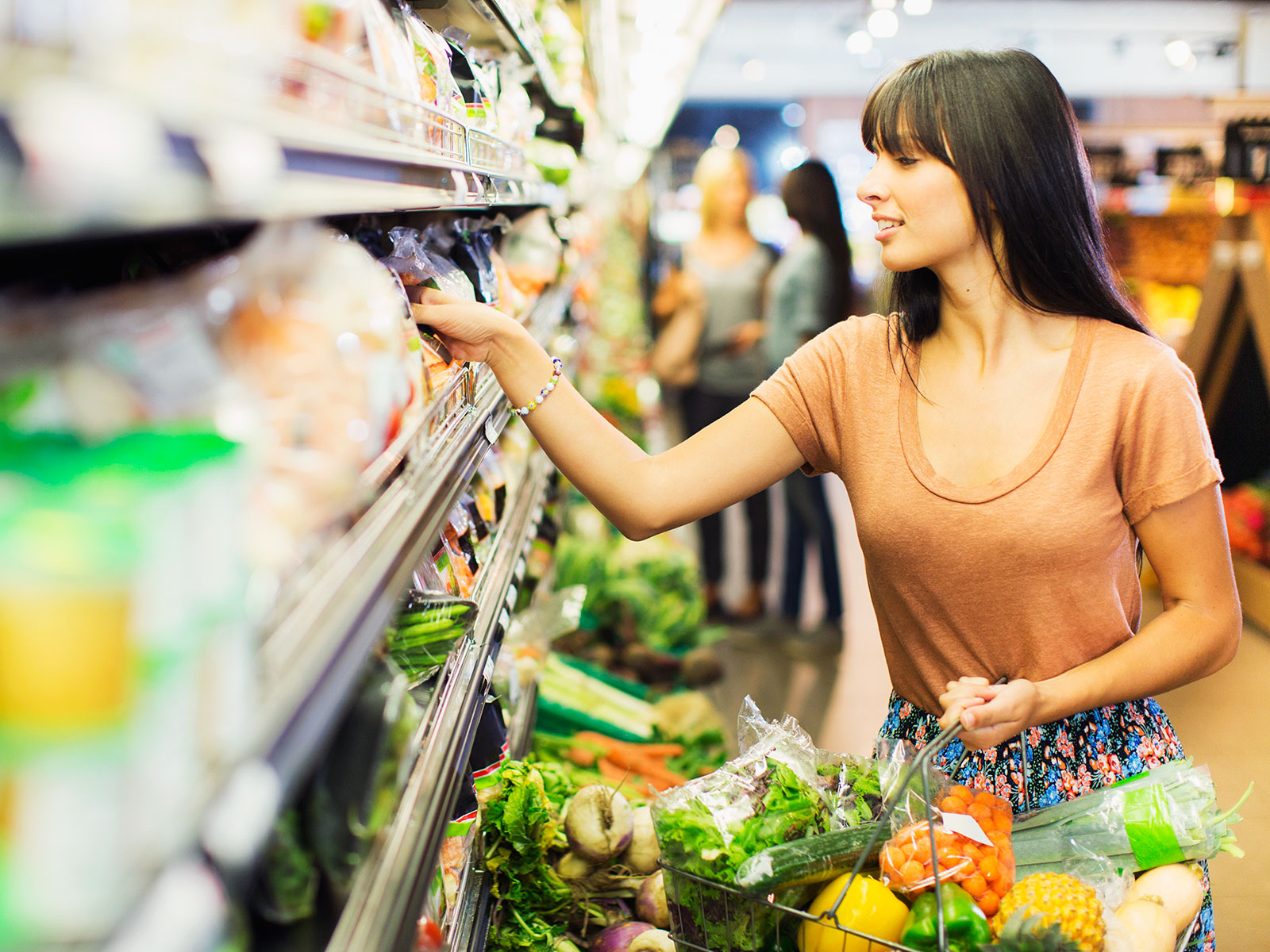 Grocery Prices Are Low—But You May Not Have Noticed | Food & Wine