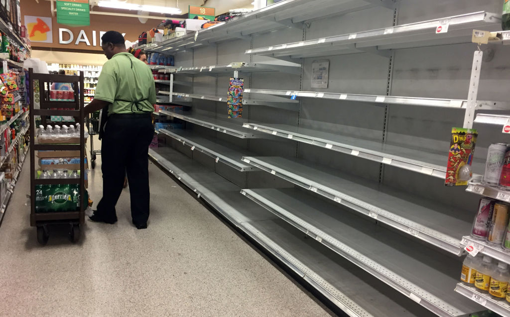 hurricane irma supermarket florida