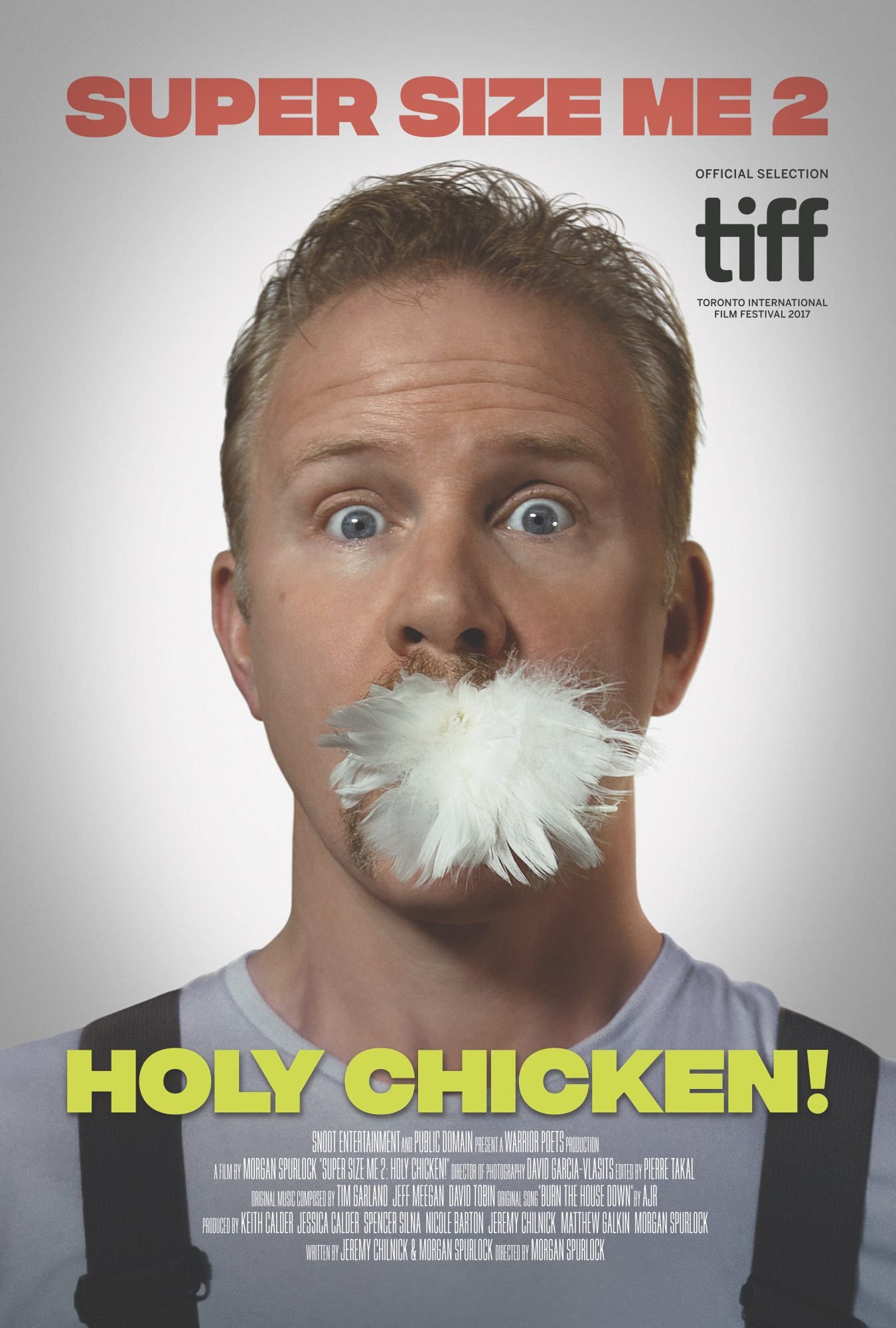 Morgan Spurlock's long-awaited 'Super Size Me'sequel is here: See the new posters