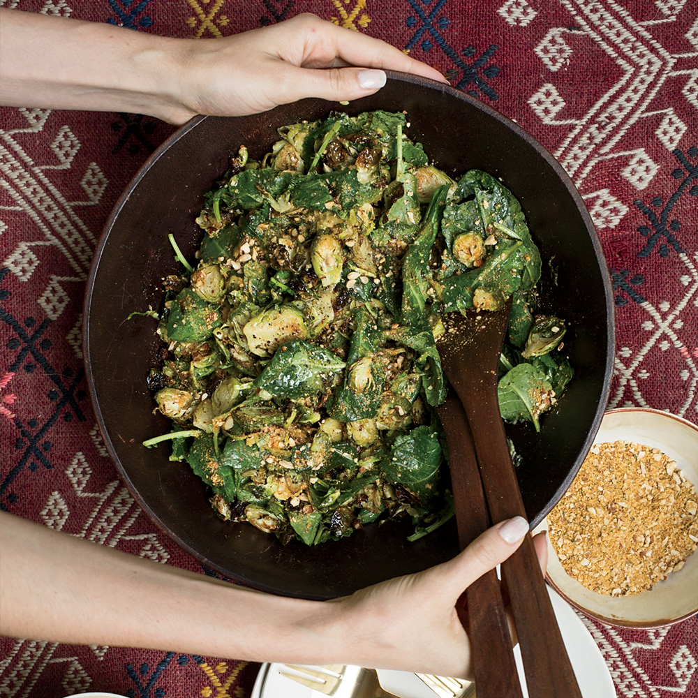 Kale–and–Brussels Sprout