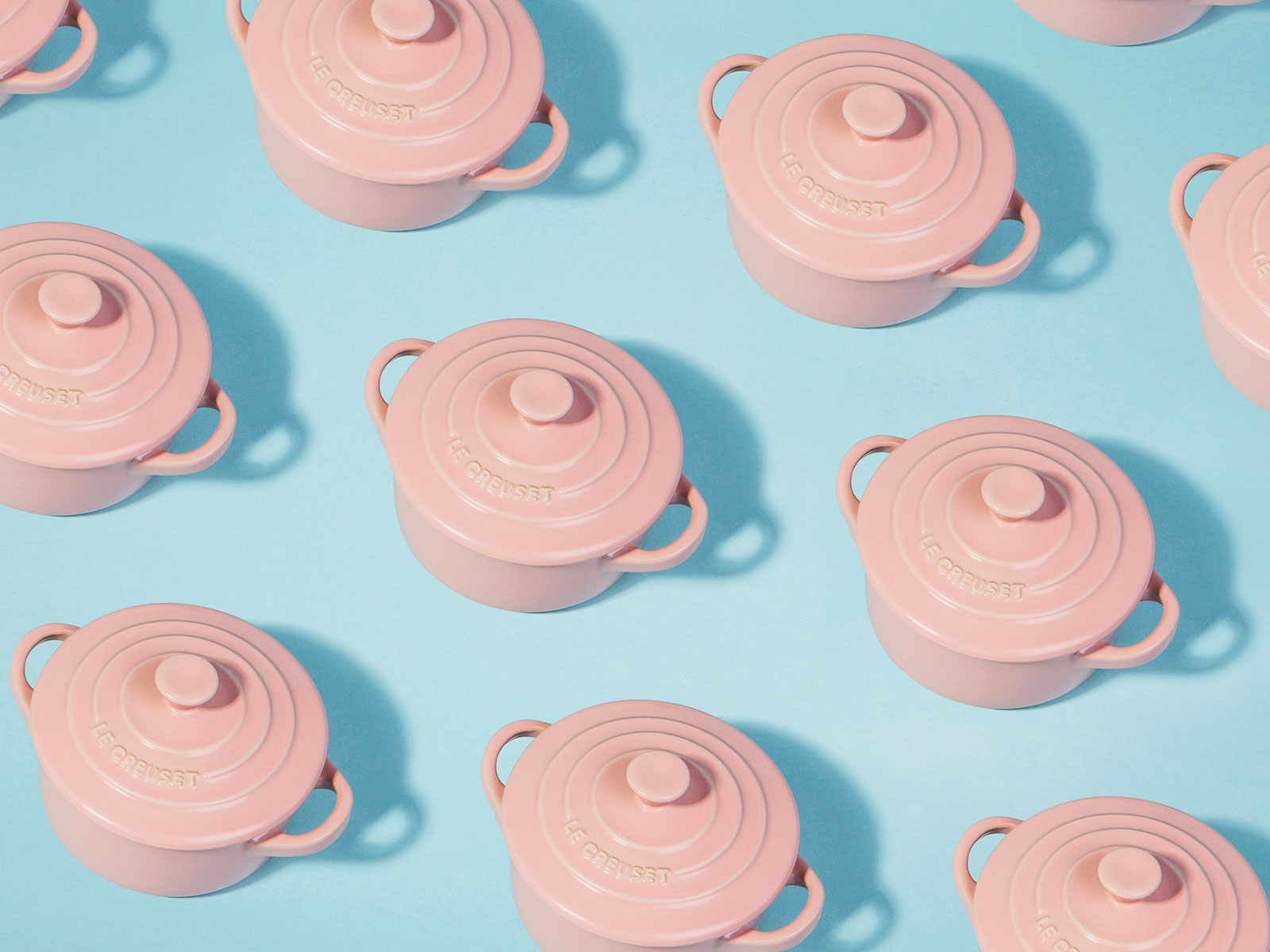 le creuset pattern of new collection