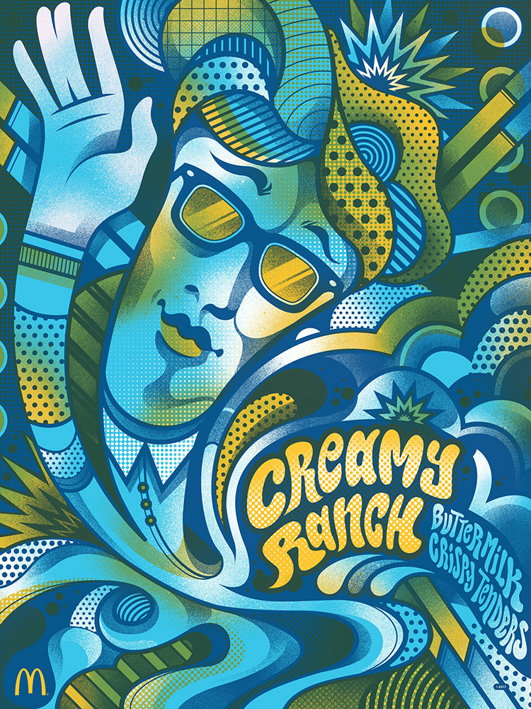 creamy ranch poster
