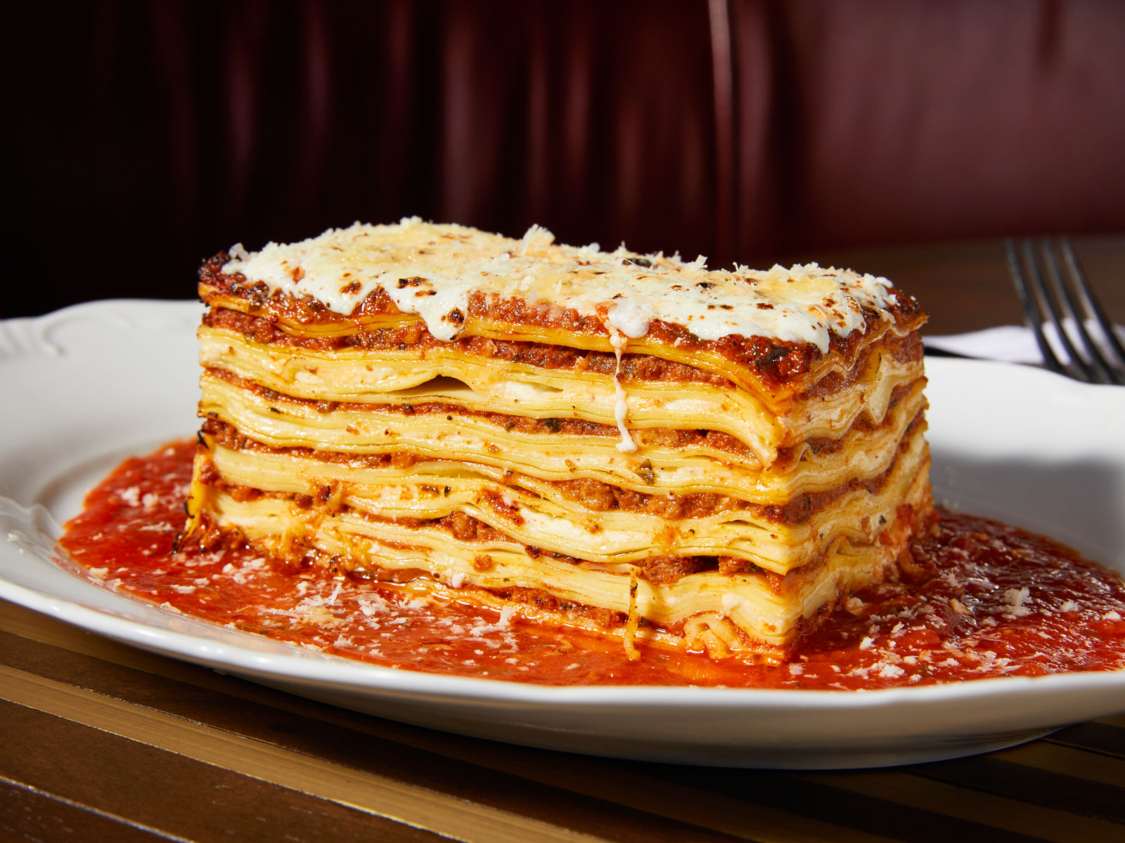 Michael Symon Shares His Mom's Tips for Making Perfect Lasagna