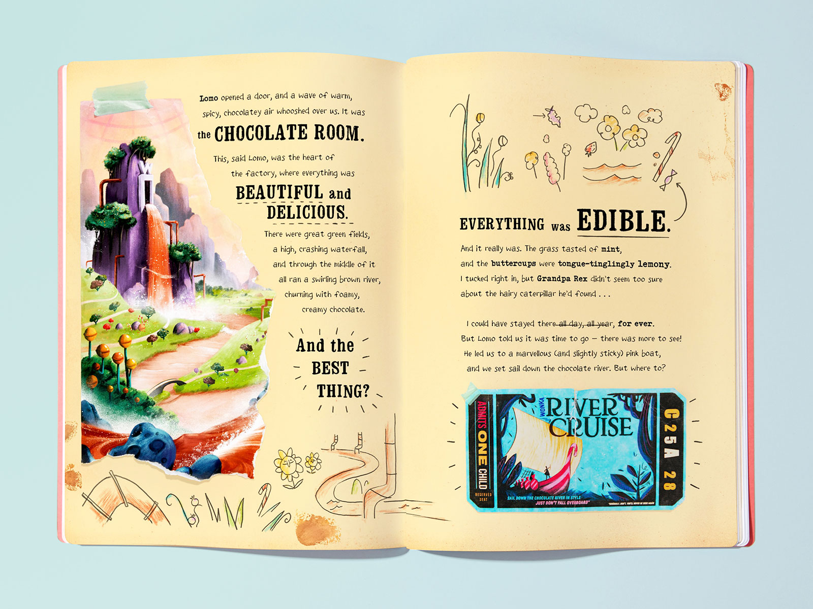 willy wonka book offers a personalized adventure through the