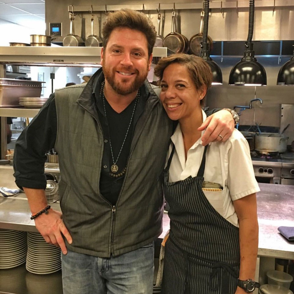 Scott Conant's Guest Chef Series at Fusco Starts With 2017 Best New Chef Nina Compton [Video]