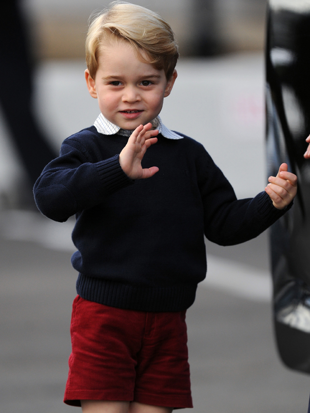 Eating like a king! Prince George's £18k school menu…